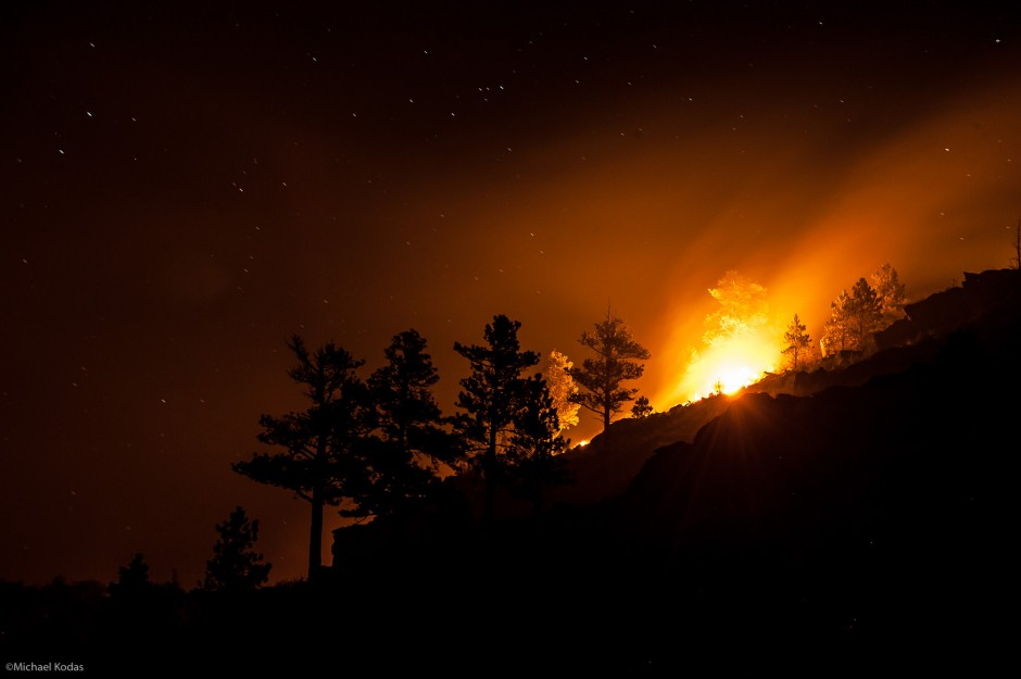 Hewlett Fire, Poudre Canyon, CO – May 14, 2012